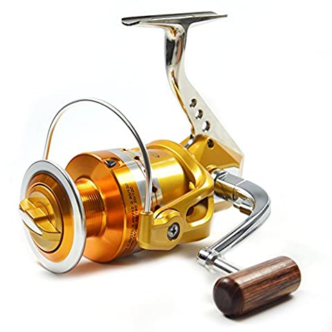 Supertrip TM Fishing Reels Full Metal Saltwater Spinning Reel High Speed Sea Reels Left/Right Interchangeable Size 7000
