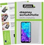 dipos I 6X Schutzfolie matt passend für Huawei Y5 (2019) Folie Bildschirmschutzfolie