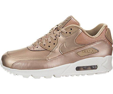 Nike Chaussures Femme Air Max 90Prem, MTLC Red Bronze/MTLC Red Bronz