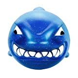 Toamen Newest Super Slow Rising Squishies Toy, Lovely 13cm Jumbo Kawaii Galaxy Strawberry Scented Squishy Charm Slow Rising Stress Reliever Toy Exquisite Kid Soft Toy Key Cell Phone Pendant Strap Gift Home Décor (Big Shark)