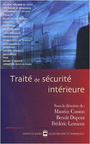 Traite de Securite Intérieure Cq 150