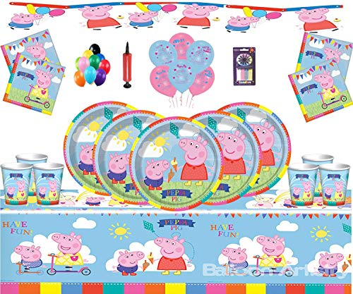 Gemma Peppa Pig Party Supplies