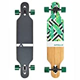 Apollo Longboard Flores, Twin-Tip Drop-Through Freeride Cruiser Board