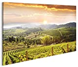 islandburner Bild Bilder auf Leinwand Toskana V4 Italien Landschaft 1p XXL Poster Leinwandbild Wandbild Dekoartikel Wohnzimmer Marke