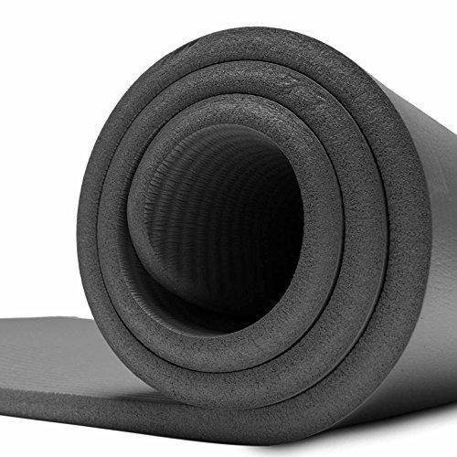Fitnessmatte »Yamuna« / EXTRA-dick und weich, ideal für Pilates, Gymnastik und Yoga, Maße: 183 x 61 x 1,5cm, schwarz - 3