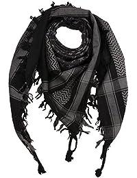 26fc8714a43 Freak Scene® Foulard palestinien keffieh en coton - motifs étoile - 100 x  100
