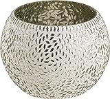 Kunstgewerbe Gehlmann Glaswindlicht mit Mosaik Glaswindl Rund 10X9 21701243