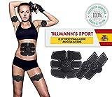 Tillmann's® Sport Electroestimulador Muscular EMS | Estimulador Muscular | Electro Estimuladores Musculares Para Un Cuerpo Tonificado Y Definido