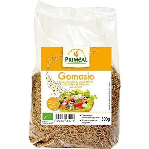 Primeal - Gomasio 500G organic - Gomasio 500G Bio - Price Per Unit - Fast Delivery