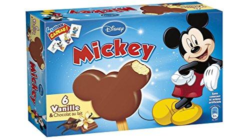 DISNEY - Bâtonnets Mickey - 6 x 35 g - Surgelé