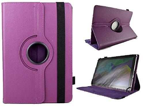 Funda Giratoria para Tablet Bq Edison 2 Quad Core 10.1' - Morado