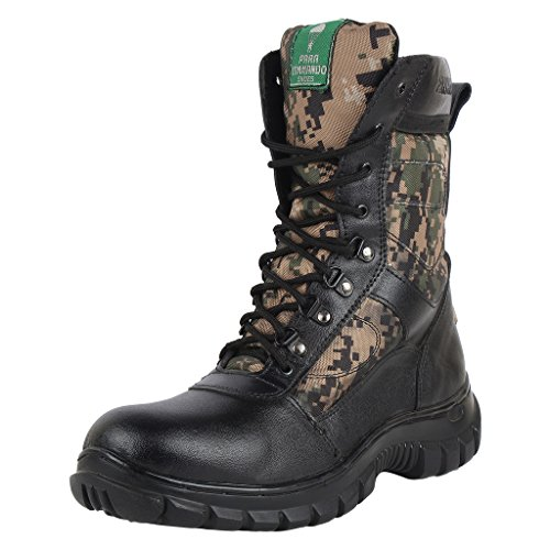 Combat Commando Tough Leather Boots