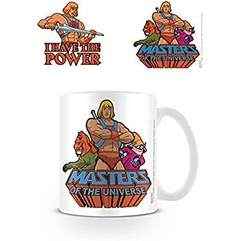 Masters Of The Universe MG23427 Multi Coloured 11oz/315ml I Have The Power Mug, Ceramic