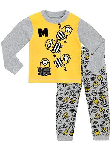 Boys Despicable Me 3 Minions Dressing Gown Hooded Robe Age/'s 2-14 Years