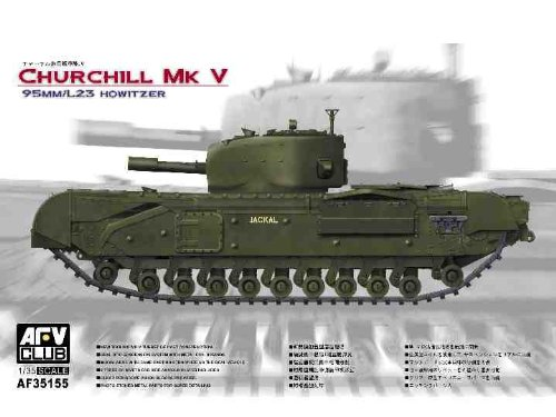 AFV-Club 35155 Churchill Mk V Tank, Fahrzeuge (Churchill Der Club)