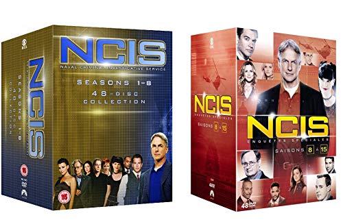 NCIS Staffel 1-15 / Navy CIS Season 1 + 2 + 3 + 4 + 5 + 6 + 7 + 8 + 9 + 10 + 11 + 12 + 13 +14 +15 in Deutsch und Englisch - EU Import