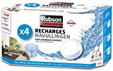 Rubson 1852170 Déshumidificateur d'air 4 Recharges Blanc