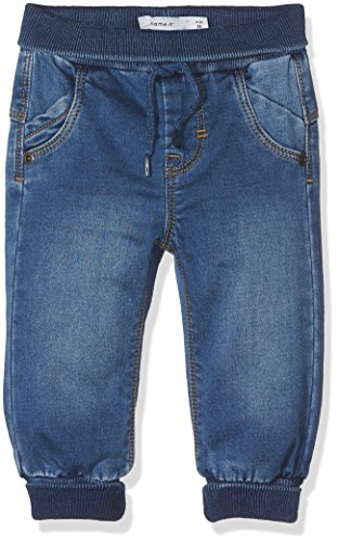 NAME IT Baby-Jungen Jeans Nitbandy Bag/XR Dnm Pant Bru M NB Blau (Medium Blue Denim), 62 (Denim-schlupf)