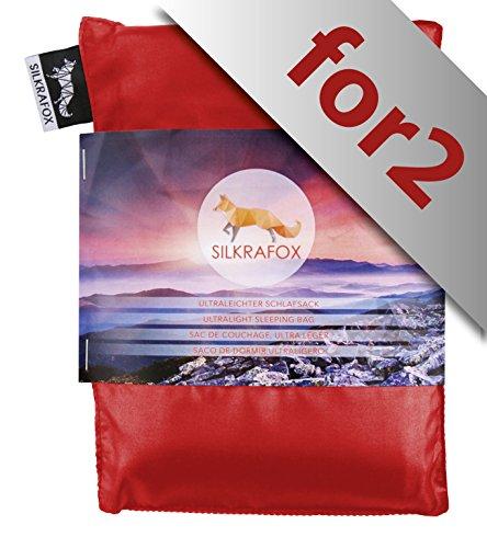 Silkrafox for 2 - Saco dormir ultraligero excursiones