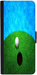 Snoogg Ball Near Water Golf Backgrounddesigner Protective Flip Case Cover For...