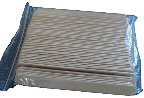Mundspatel, Holz, 150 x 17 x 1,5 mm abgerundet, unsteril, VE = 100 Stück