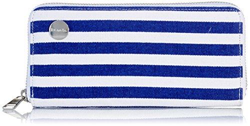 Bench Damen Canvas Purse Geldbörse, Surf the Web Stripe, One Size (Stripe Canvas)