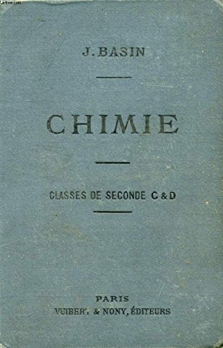 CHIMIE (METALLOIDES) A L'USAGE DES ELEVES DES CLASSES DE 2de C ET D