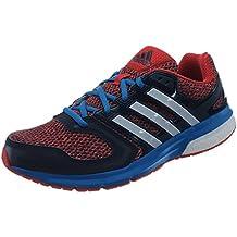 adidas - Zapatillas de running de Material Sintético para hombre rojo rojo/azul/blanco
