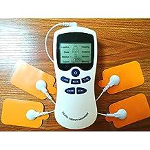 JMung'S Elettrostimolatore Muscolare Eccezionale Per I Dolori Cervicali, La Sciatica E Per L'Indolenzimento Muscolare 8 Elettrodi Per I Massaggi A Impulso