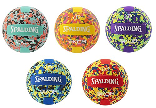 Spalding Camouflage Sportskanone Beachvolleyball (Türkis)