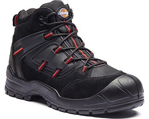 dickies-everyday-safety-boots-mens-steel-toe-cap-anti-scuff-toe-heel-uk11-eu45-black-red