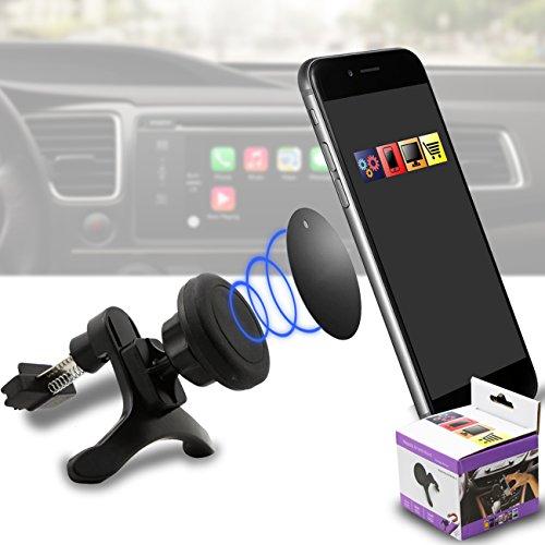 IWIO Fahrzeug Montieren Griffmagie Mobiltelefon Cradle Entlüftungsöffnung Magnetisches Telefon Halter Universal Autohalterung für LG Optimus LU6200 LTE
