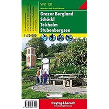 Freytag Berndt Wanderkarten, WK 131, Grazer Bergland-Schöckl-Teichalm-Stubenbergsee, GPS, UTM - Maßstab 1:50 000