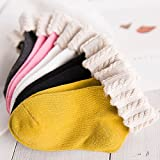 Niños ZYTAN calcetines calcetines calcetines bebé lindo pies en brida Tubo,Bolsa de encaje,M (unos 3-5 años) 6 pares
