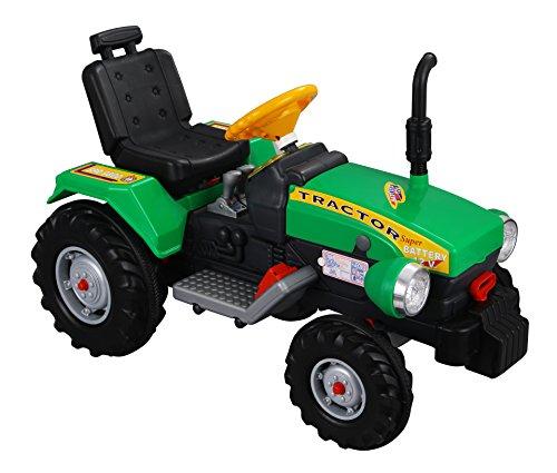 *Super Traktor – Elektrotraktor 12V Kindertraktor*