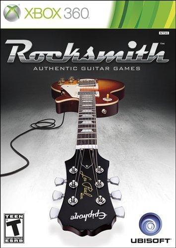 Ubisoft Rocksmith, Xbox 360 Xbox 360 Inglés vídeo - Juego (Xbox 360, Xbox 360, Música, Modo multijugador, T (Teen))