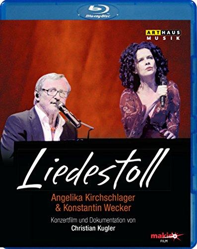 LIEDESTOLL - Angelika Kirchschlager & Konstantin Wecker [Blu-ray]