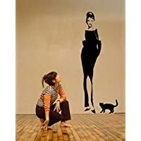 Adesivi Murali Audrey Hepburn.Amazon It Audrey Hepburn Adesivi E Murali Da Parete Pitture E