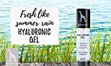 Hyaluronsäure Konzentrat - OHNE Parabene, Silikone, Parfums, PEGs, Hormone- HOCHDOSIERT 50ml - Hyaluron Serum Gel mit Vitamin C und E - 4