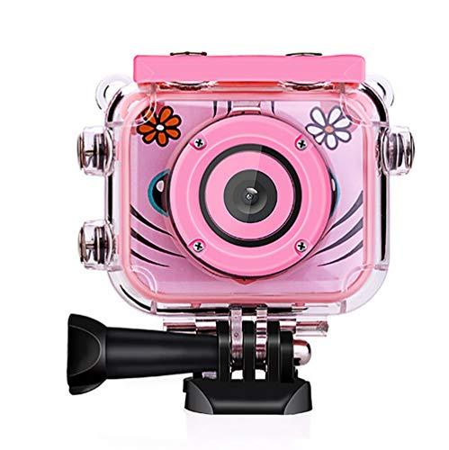 Kinder Action Kamera, Kamera Wasserdichte Digital Video HD 1080P Sport Kamera Camcorder DV für Geburtstag Urlaub