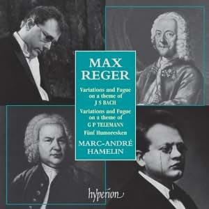 Bach & Telemann Variationen und Fünf Humoresken op. 20