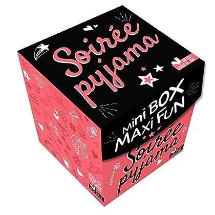 Mini box maxi fun soirée pyjama - boîte avec cartes