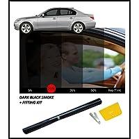 DARK BLACK CAR WINDOW FILM TINT 15% 76cm x 3M