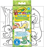 Best Crayola 3 anni Books - Crayola 81-1994 - Mini Kids Doodle Magic Album Review