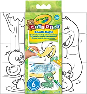Crayola Doodle Magic - 81-1994-E-000 - Doodle Magic - Album À Colorier
