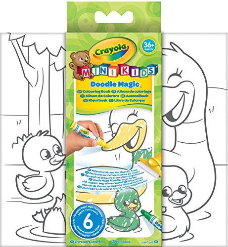 Crayola CC010007 Mini Kids, Malbuch, Matt - Crayola Magic Coloring Book
