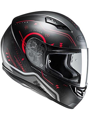 Casco Moto Hjc Cs-15 Safa Rojo M