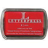 We R Memory Keepers–Letterpress–Almohadilla de tinta, color rojo