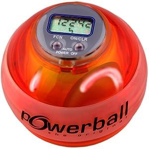 Powerball the original® Max Rot, mit Digital-Drehzahlmesser und 6 LEDs