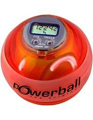 Kernpower Powerball the original® Max avec compte-tours numérique et 6 LED Rouge